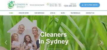Business Information: Cleaners In Sydney